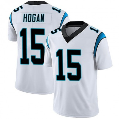 Men's Nike Carolina Panthers Chris Hogan Vapor Untouchable Jersey - White Limited