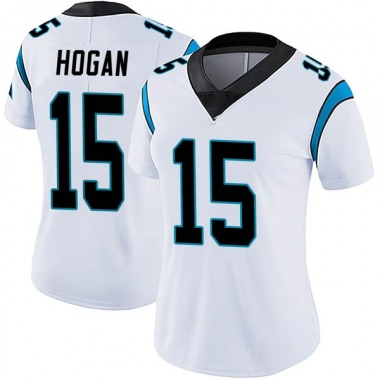 Women's Nike Carolina Panthers Chris Hogan Vapor Untouchable Jersey - White Limited