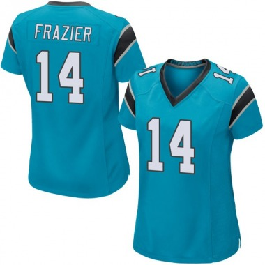 Women's Nike Carolina Panthers Mose Frazier Alternate Jersey - Blue Game