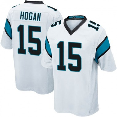 Youth Nike Carolina Panthers Chris Hogan Jersey - White Game