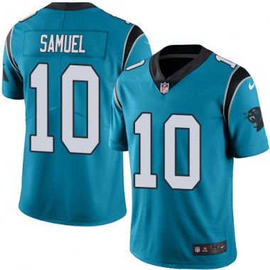 Youth Nike Carolina Panthers Curtis Samuel Color Rush Jersey - Blue Limited