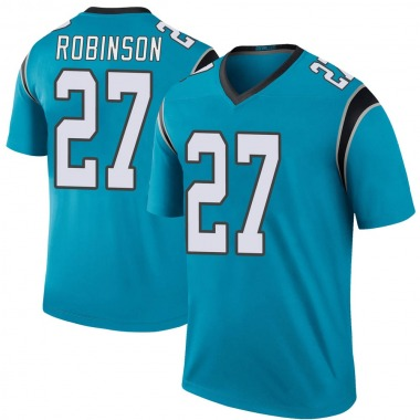 Youth Nike Carolina Panthers Kenny Robinson Color Rush Jersey - Blue Legend