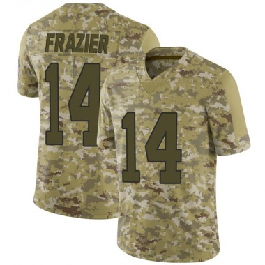 Youth Nike Carolina Panthers Mose Frazier 2018 Salute to Service Jersey - Camo Limited
